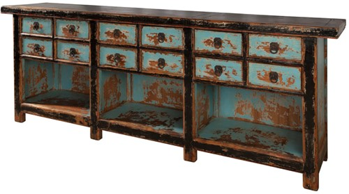 SIDETABLE HAGERSTOWN 12 DRAWERS-2