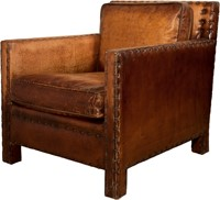 CHAIR ROME ANTIQUE LEATHER-1