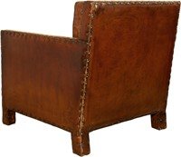 CHAIR ROME ANTIQUE LEATHER-3