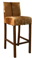 CHAIR BARSTOOL DEVIL GOAT LEATHER