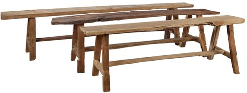 BENCH  RECYCLED TEAK-2