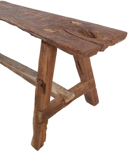 BENCH  RECYCLED TEAK-3