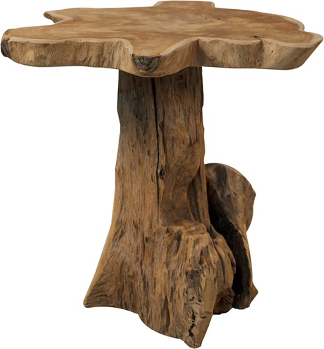 DECORATION SMALL FURNITURE STOOL ROOT