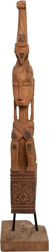 DECORATION STATUE PRIMITIF/ MEDIUM-2