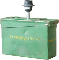LAMP IRON BOX