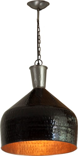 HANGLAMP  IRON BLACK COPPER