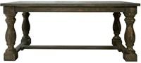 EETTAFEL CANNES 200 X 100 MANGO WOOD-1
