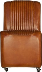 EETKAMERSTOEL CABRIO BUFFALO LIGHT BROWN