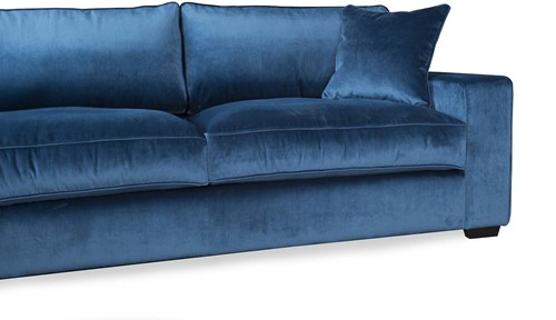 SOFA 3S AMAZON OTTOMAN L JUKE BLUE