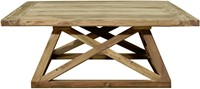 SALONTAFEL BRIDGE TEAK 120X120