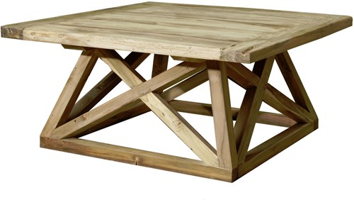 SALONTAFEL BRIDGE TEAK 120X120-2