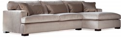 SOFA 3S BRIGHTON ARM R + LCH 170 L DOUGLAS TAUPE FIXED UPHOLSTERY