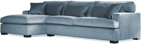 SOFA 3S BRIGHTON ARM R + LCH 170 L DOUGLAS ICEBLUE FIXED UPHOLSTERY