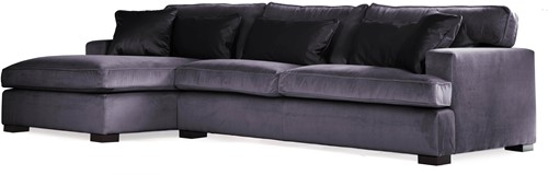 SOFA 3S BRIGHTON ARM R + LCH 170 L DOUGLAS MIDNIGHT FIXED UPHOLSTERY