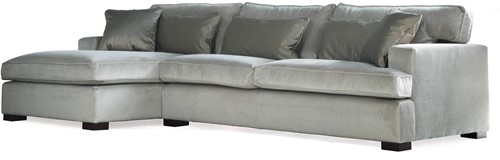 SOFA 3S BRIGHTON ARM R + LCH 170 L DOUGLAS STEEL FIXED UPHOLSTERY