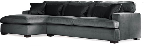 SOFA 3S BRIGHTON ARM R + LCH 170 L DOUGLAS STORM FIXED UPHOLSTERY