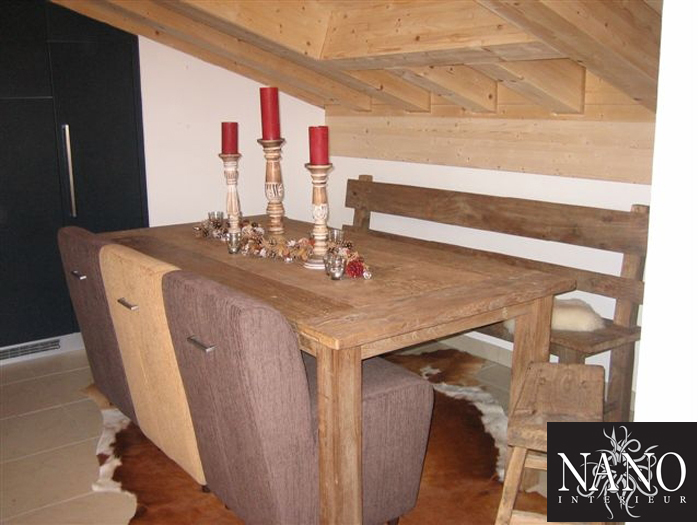 Chalet zwitserland - Interieur chalet houten berg ...