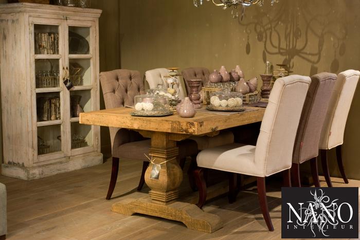 Eettafels eetkamertafels tafels - Decoratie tafel eetkamer ...