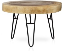 COFFEE TABLE MUNGGUR/ WITH IRON LEGS-1