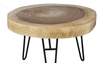 COFFEE TABLE MUNGGUR/ WITH IRON LEGS-2