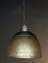 HANGLAMP IRON RAW METAL