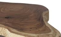 SALONTAFEL MUNGGUR TABLE W/WHEEL OVAL