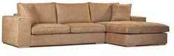 SOFA MILLSBOROUGH ECO LEATHER CAMEL 3S ARML + LCH 3R