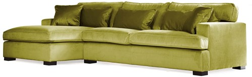 SOFA 3S BRIGHTON ARM R + LCH 170 L DOUGLAS GRASS FIXED UPHOLSTERY