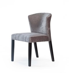 DININGCHAIR TRENTO/ CAST DARKGREY