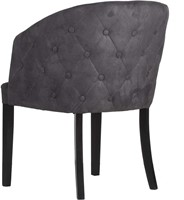 DININGCHAIR MILAN/ ECO LEATHERLIKE ANTRACITE-3