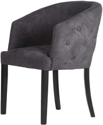 DININGCHAIR MILAN ECO LEATHERLIKE ANTRACITE