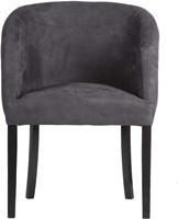 DININGCHAIR MILAN/ ECO LEATHERLIKE ANTRACITE-2