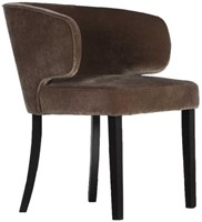 DININGCHAIR NANCY/ BAROQUE CACOA-2