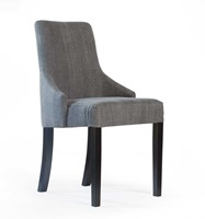 DININGCHAIR STEFANO/ KISS GRAPHITE