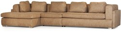 SOFA ALEXANDRIA ECO LEATHER LIKE  CAMEL ARM R OTT L