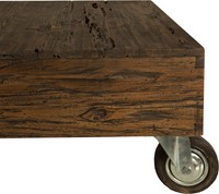 SALONTAFEL TAMAR WITH WHEEL 2 DRAWERS-3