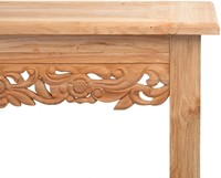 SIDE TABLE CARVING 200 X 50-3